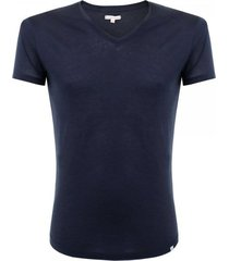 orlebar brown ob-v navy t-shirt 259648