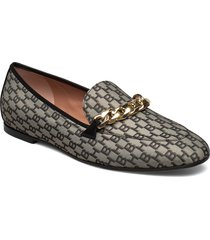 kaia loafer-j loafers låga skor beige boss