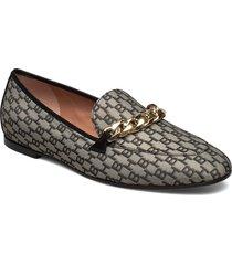 kaia loafer-j loafers låga skor beige boss