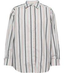 gina overhemd met lange mouwen multi/patroon dagmar