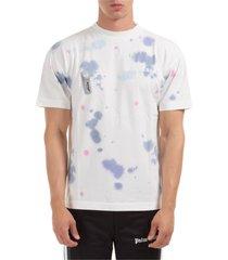 palm angels tie dye t-shirt