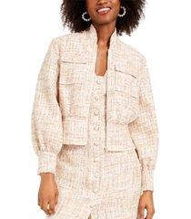foxiedox tweed bolero jacket