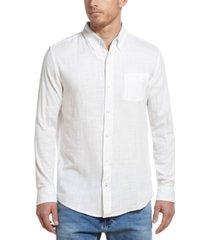 weatherproof vintage men's slub shirt