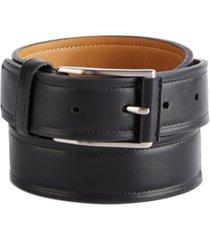 club room men's beveled-edge belt, created for macy's