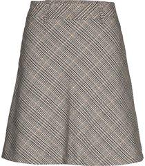 nuanya skirt kort kjol grå nümph