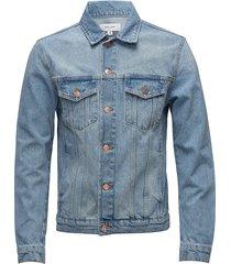 shelton denim jacket jeansjack denimjack blauw soulland