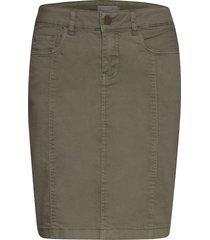 frjotwill 3 skirt kort kjol grön fransa