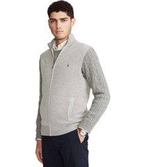 polo ralph lauren men's full-zip sweater vest