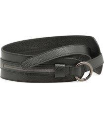 fabiana filippi pebbled leather belt