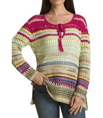 sweater crochet jose rosado rockford