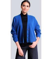 vest alba moda royal blue
