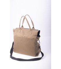 bolso beige kabra kuervo on the route