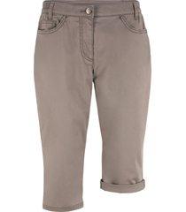 bermuda con cinta comoda (marrone) - bpc bonprix collection