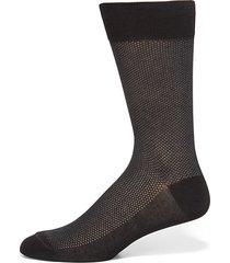 birdseye cotton dress socks