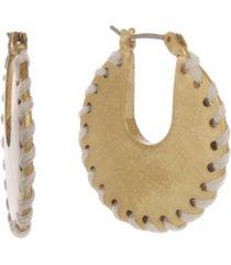 the sak gold-tone hoop earrings