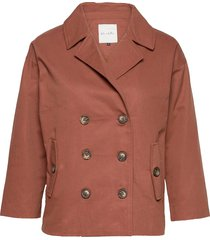 bslenny l trench co trench coat rock röd blend she