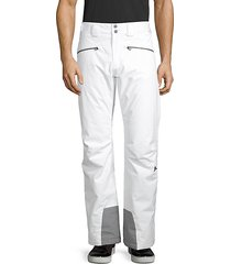 contrast-trim ski pants