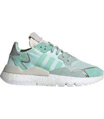zapatilla verde adidas nite jogger