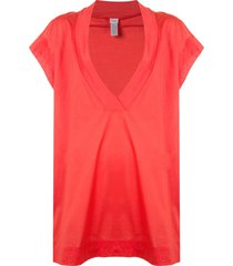 eres renée relaxed dress - red