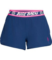 tiida tech 2 in 1 shorts shorts sport shorts blå bidi badu