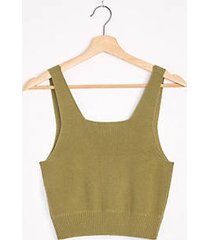 lou & grey cropped sweater tank