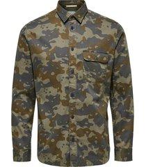 overhemd camo print