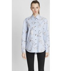 koszula bawełniana aquamarine