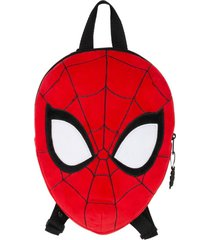 mochila peluche face multicolor spiderman