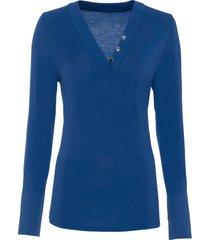 maglia a maniche lunghe (blu) - bodyflirt