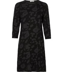 vehreys heini dress jurk knielengte zwart marimekko