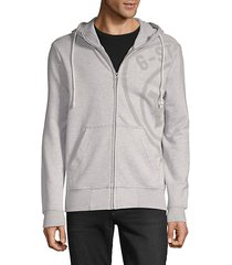 graphic 10 zip hoodie