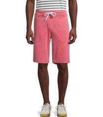 alternative men's throwback burnout shorts - fig - size s