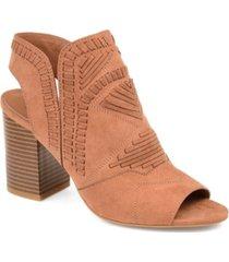 journee collection women's crosby bootie women's shoes
