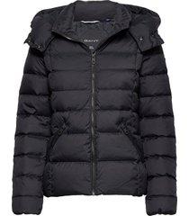 d2. classic down jacket fodrad jacka svart gant