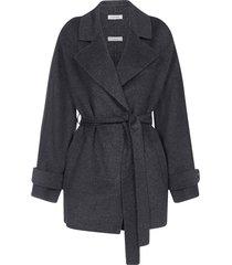 parosh leak belted wool short coat