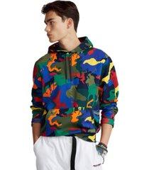 polo ralph lauren men's polo pony camo double-knit hoodie