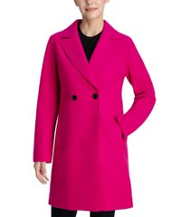 bcbgeneration raw-edge double-breasted walker coat