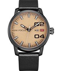 reloj análogo f0022g-4 hombre negro