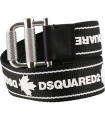 dsquared2 logo belt