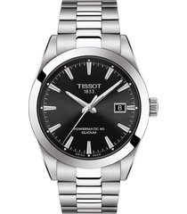 tissot t-classic gentleman powermatic bracelet watch, 40mm