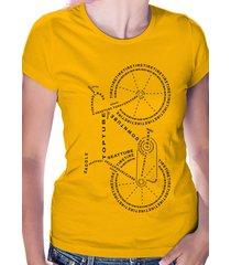 bicycle anatomy - women's t-shirt, sport t shirt