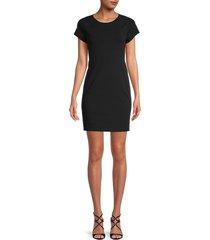 james perse women's sheath dress - black - size 0 (xs)