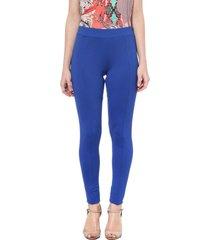 legging energia fashion elã¡stico embutido azul - azul - feminino - dafiti