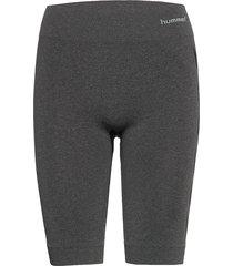 hmlci seamless cycling shorts cykelshorts grå hummel