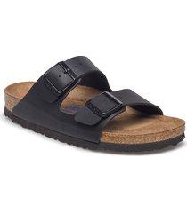 arizona soft footbed shoes summer shoes flat sandals svart birkenstock