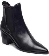 boots 4942 shoes boots ankle boots ankle boot - heel svart billi bi