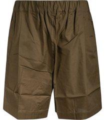laneus elasticated waist classic shorts