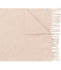 acne studios canada new oversized scarf - neutrals
