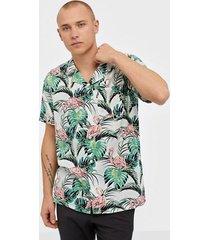 levis cubano shirt flamingo leaf pri skjortor neutral