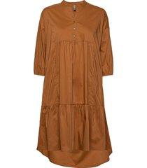 cuantoniett dress knälång klänning brun culture